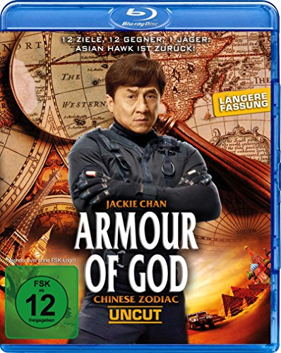Armour of God - Chinese Zodiac - Uncut [Blu-ray]