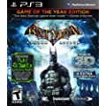 Batman Arkham Asylum: Game Of The Year