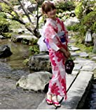 ETHIQUE 【CHU:SE特別価格】2010年選べる36柄☆恋モテ浴衣5点セット/ピンク/16 : 浴衣