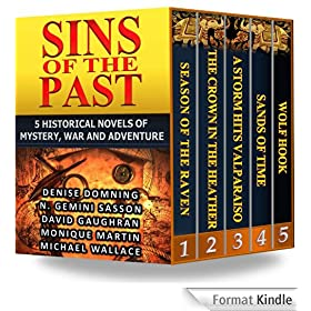 Sins of the Past: 5 Historical Novels of Mystery, War and Adventure (English Edition)