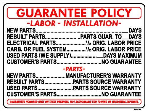 Sign Repair Parts