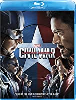 Marvel's Captain America: Civil War [Blu-ray] by Walt Disney Studios