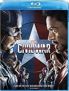 Marvel's Captain America: Civil War [Blu-ray] by Walt Disney Studios