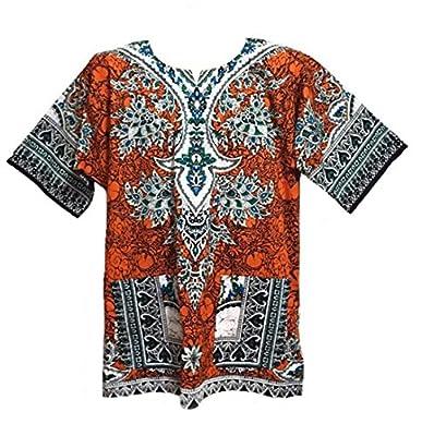 Dashiki Shirt African Caftan Festival Shirt Unisex Dashiki Meduim Size