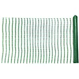 Mutual Industries 14993-38-48 4' x 100'  Green Warning Barrier Fence