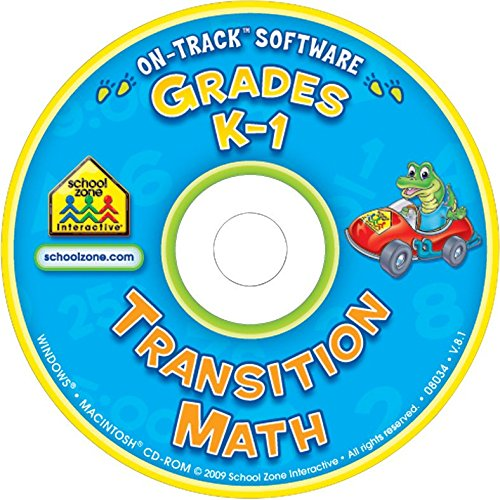 School Zone Transition Math On-Track Software CD for Windows and Macintosh, Ages 5 - 7 - 1