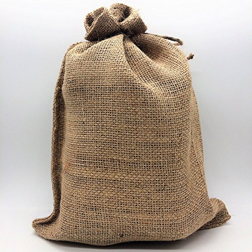 5 LBS - BRAZIL IN A BURLAP BAG - Farm: Fazenda, Processing: Natural, 17/18 screen, 800M, Nutty Undertones, Sweetness, Specialty-Grade Green Unroasted Whole Coffee Beans, for Home Coffee Roasters