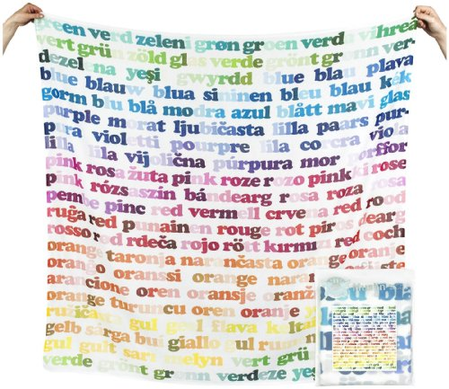 Weegoamigo Digital Printed Muslin - Colours - 1