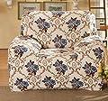 Modische Blumen Sofa / Sessel / Couch Husse für 90-140cm Sofa von East Majik bei Gartenmöbel von Du und Dein Garten