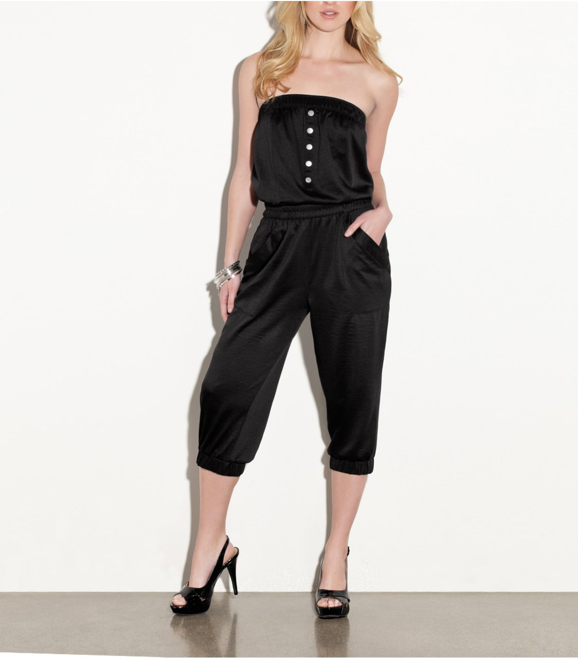 Shopping Buy Now!! Cheap G By GUESS Dionne Capri Jumpsuit