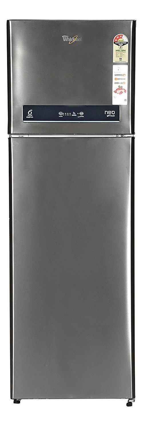 Whirlpool NEO IF305 ELT (3S) Frost-free Double-door Refrigerator (292 Ltrs, 3 Star Rating, Infinia Steel)