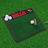 "NFL Buffalo Bills Golf Hitting Mat, 20"" X 17""/Small, Black"