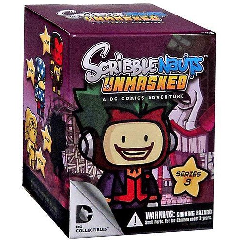 Scribblenauts Unmasked Series 3 Blind Box (Styles Vary) Mini Figure