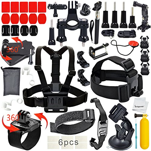 Erligpowht-Basic-Common-Outdoor-Sports-Kit-Ultimate-Combo-Kit-40-accessories-for-GoPro-HERO-43321