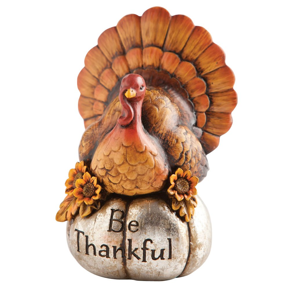 Thanksgiving small turkey figurines thanksgiving wikii - Thanksgiving decorations ...