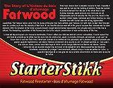 Pine Mountain Firestarters StarterStikk Fatwood Firestarting Sticks, 1.5 lb