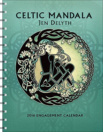 Celtic Mandala 2016 Engagement Datebook Calendar