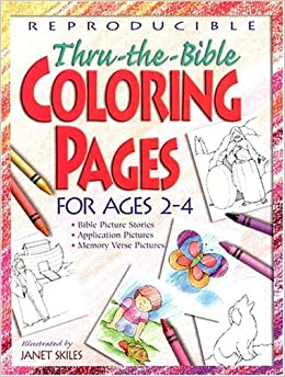 Reproducible Thru The Bible Coloring Pages Teacher