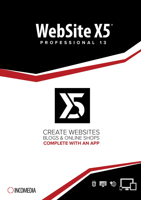 WebSite X5 Professional 13 [Download]