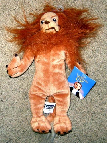 "The Wizard of Oz Cowardly Lion Plush 11"" Figure"