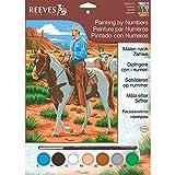 Reeves - 85504 - Pintar por números - Tamaño pequeño - Cowboy