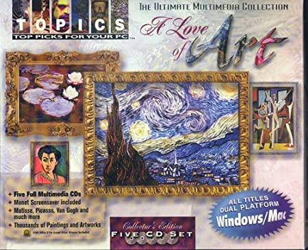 A Love of Art (4 CD-ROM)
