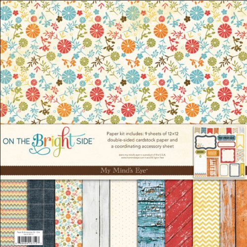 On The Bright Side One 12X12 Paper & Accessories Kit (My Minds Eye)