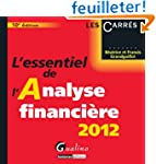 L'essentiel de l'analyse financi�re 2012