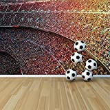 Crowded Stadium Barcelona Football Wall Mural Sports & Hobbies Photo Wallpaper available in 8 Sizes Medium Digital