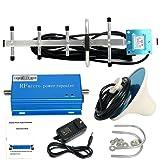 CDMA 850MHz Cell Phone Signal 3G Repeater Booster Amplifier Extender + Yagi Antenna Kit