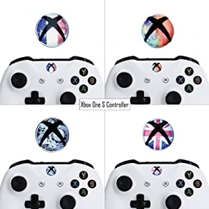 eXtremeRate 60 pcs Custom Home Button Power Switch Stickers Skin
