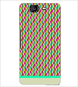 PrintDhaba Pattern D-1147 Back Case Cover for MICROMAX A350 CANVAS KNIGHT (Multi-Coloured)