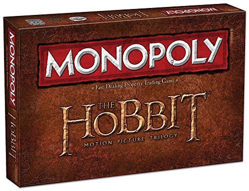 The Hobbit Motion Picture Trilogy Monopoly Brettspiel