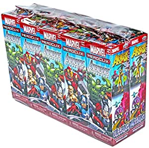 WizKids Marvel Hero Clix: Avengers Assemble Booster Brick