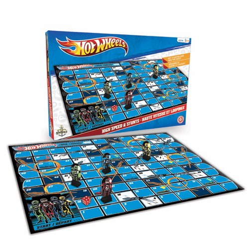 Hot Wheels - High Speed and Stunts Board Game - 1