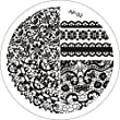 Susenstone DIY Chic Lace Pattern Nail Art Stamp Template Image Plate