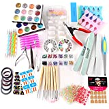 Kit Manucure XL Cuticule Sticker Tips autocollant paillete strass ongle Guide nail art
