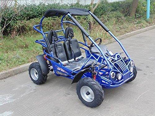 TRAILMASTER-XRX-R-MID-SIZE-200cc-KIDS-GO-KART-with-REVERSE-BLUE