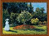 タンドレスの庭(原画:モネ/クロスステッチキット)