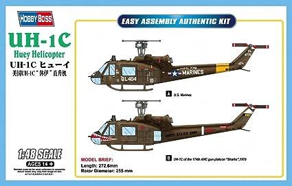Hobbyboss 1:48 - UH-1C Huey Helicopter