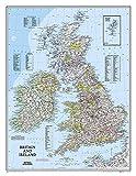 Britain and Ireland Wall Map (tubed) British Isles
