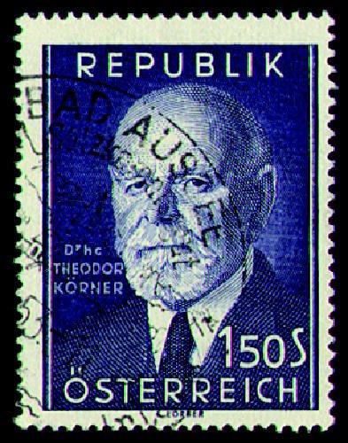 Briefmarken Österreich Nr. 982 gestempelt Körner 1953
