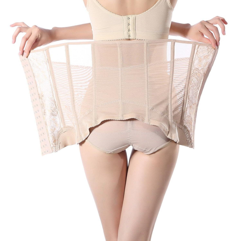 Smile YKK Damen Body Miederpants Figur-Body Bodyshaper Korsettgürtel günstig