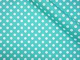 LECIEN (ルシアン) Color Basic 5mm ドット オックス 生地 綿100% 約110cm巾×50cmカット col.LL 水色 4600