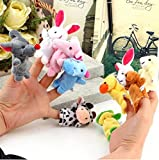 Cartoon-Animal-Finger-Puppet-10-Pcs-animal-toys-Baby-Dolls-Baby-Toy-Animal-Doll