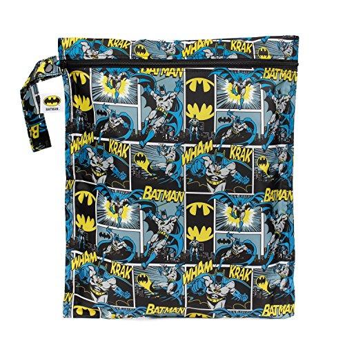 Bumkins Waterproof Wet Bag, Batman (Bumkins Wet compare prices)