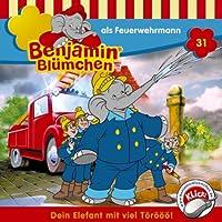 Benjamin als Feuerwehrmann (Benjamin Blümchen 31) Hörbuch