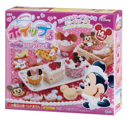 Lovely pastry Minnie Mouse Set W-56 and Ru whip