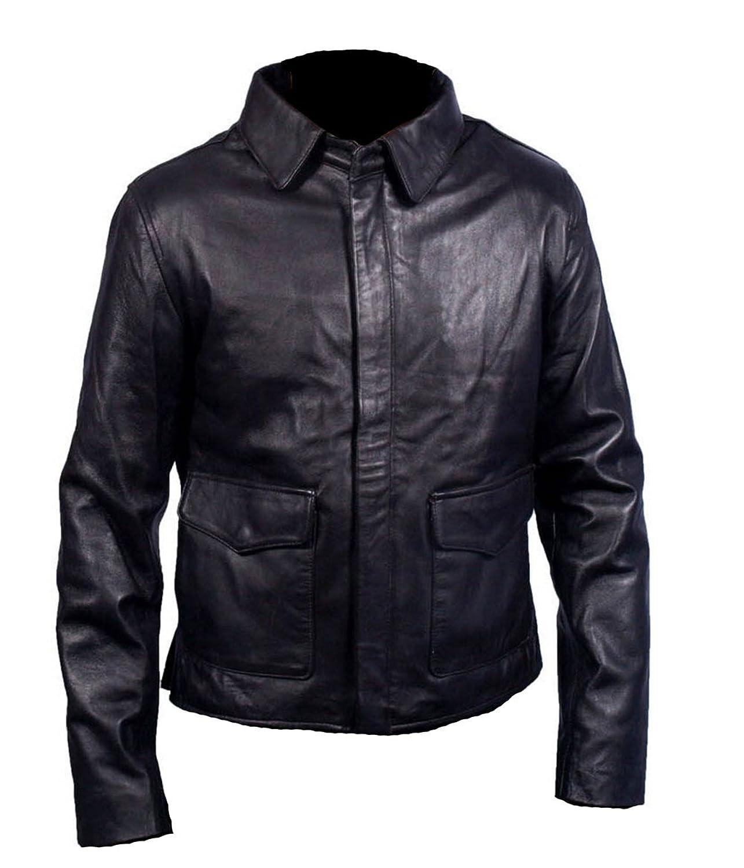 HLS Indiana Jones Harrison ford Coffee Brown Sheep Real leather jacket günstig kaufen