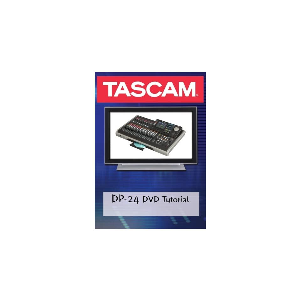 Tascam DP 24 DVD Video Tutorial Manual Help Movies & TV